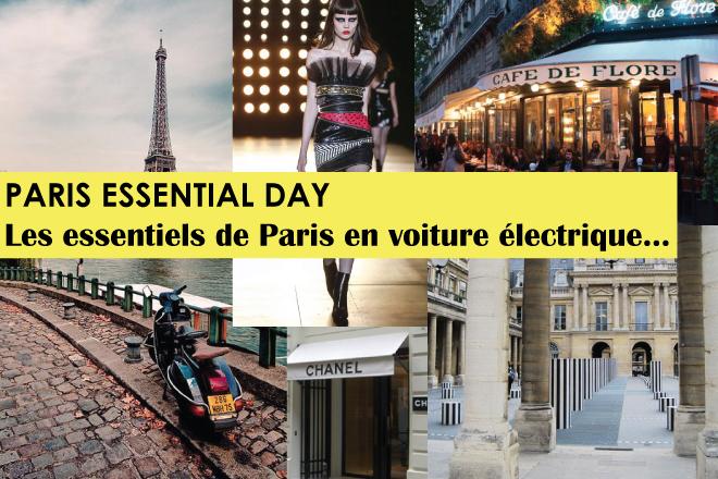 JOURNEE PARIS «éternel» en voiture électrique