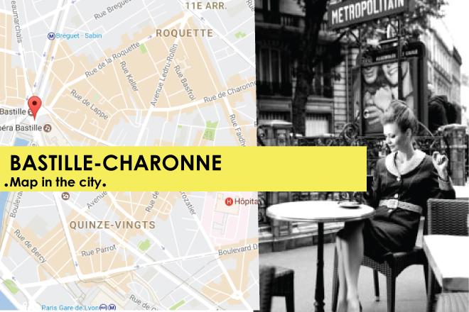 PARIS BASTILLE CHARONNE